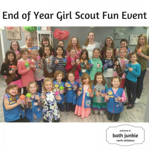 End of Year Girl Scout Fun Event