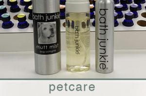 petcare products dog shampoo