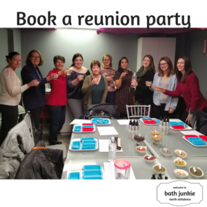 reunion parties at bath junkie