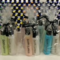 birthday party favors custom at bath junkie