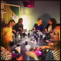 ladies night out at bath junkie