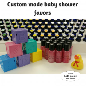 party favors and baby shower favors at bath junkie