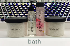 bath products custom made at bath junkie