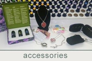 essential oil and accessories at bath junkie