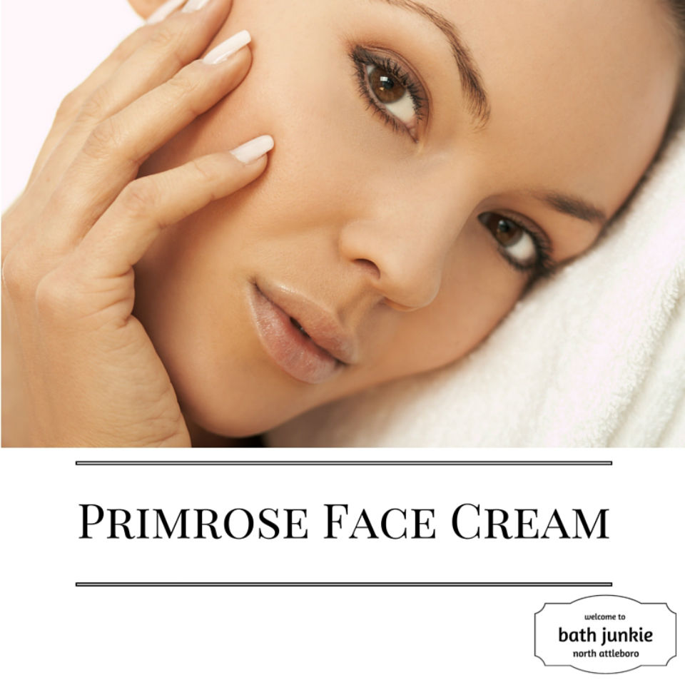 face cream with Shea butter and essential oils