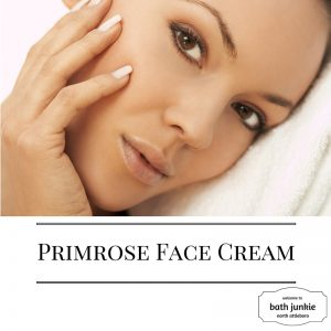 Face cream with Shea butter at bath junkie