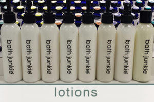 lotions custom made at bath junkie