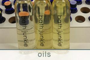 body oils custom made at bath junkie