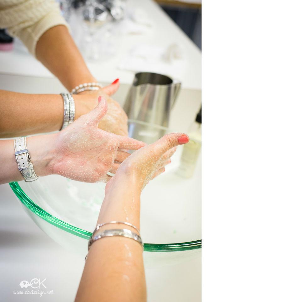 salt scrubs and exfoliation