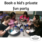 kids private fun event at bath junkie