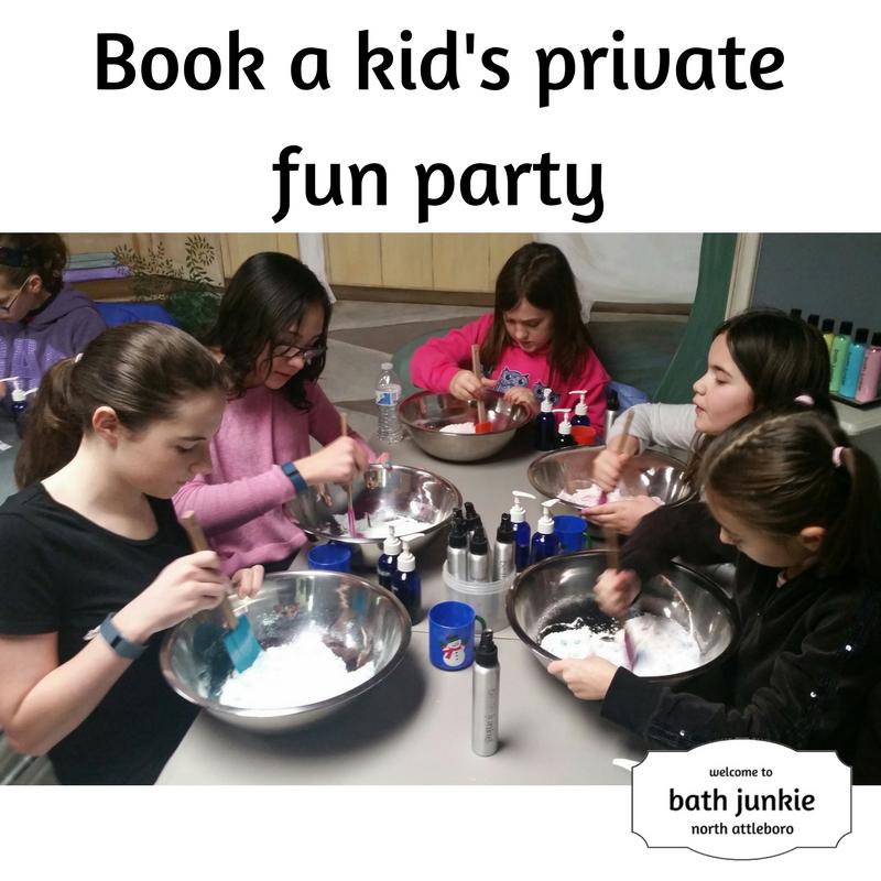 kids private fun event at bath junkie